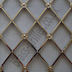 Regency Brass Decorative Grilles - I love using this metal ...