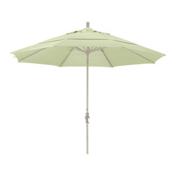 California Umbrella - 11 Foot Pacifica Aluminum Crank Lift Collar Tilt Market Umbrella, Sand Pole - California Umbrella, Inc. has been producing high quality patio umbrellas and frames for over 50-year . The California Umbrella trademark is immediately recognized for its standard in engineering and innovation among all brands in the United States. As a leader in the industry, they strive to provide you with products and service that will satisfy even the most demanding consumers.