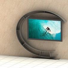 Modern Media Storage by Suspended-Image