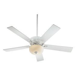 Joshua Marshal - Two Light Studio White Ceiling Fan - Two Light Studio White Ceiling Fan