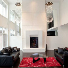 contemporary fireplaces by Dekko Concrete Decor