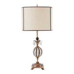Harlequin Light - Harlequin Metropolitan Lamp - Cool and classic.
