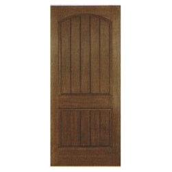 Fiberglass Entry Doors - Model 1 Panel Plank DRA1P (E)
