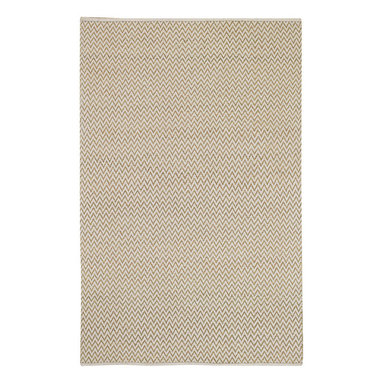 Chevron rug in Linen - Understated yet bold, our new woven Chevron combines cotton and jute for a clean, updated aesthetic.