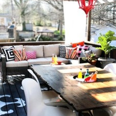 Outdoor Decorating with Color from Kristin of The Hunted Interior - Home Improve