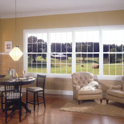 Centurion®: Quality Vinyl Windows - Centurion® windows present the perfect combination of style, comfort and performance. Photo by Alside.