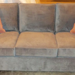 2014 Customer Custom Orders - Rowe Monaco Sofa at Barnett Furniture in Trussville / Birmingham, AL.