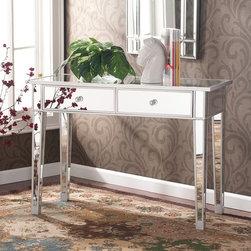 Upton Home Dalton Mirrored Accent Table -