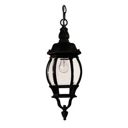 Savoy House - Exterior Collections Hanging Lantern - Decorate your favorite outdoor spaces to bring a sense of style Al Fresco!