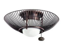 Kichler Lighting - Kichler Lighting Wire Frame Ceiling Fan Light Kit X-BBO411083 - Kichler Lighting Wire Frame Ceiling Fan Light Kit X-BBO411083