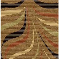 LA Rug Inc. - Area Rug: 865/40 Crown Collection, light brown with shades of green, red and cre - Shop for Flooring at The Home Depot. A beautiful and visually captivating quality rug that gives a highly sophisticated and elegant look in any room. The pattern almost reminds you of a wild animal from the jungle. Primary light brown with various shades of shade of green, red and cream.
