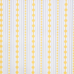 Kimberly Lewis Home - Striped Wallpaper, Roll, Canary - Like raindrops on roses, this wallpaper will soon become one of your favorite things. At once playful and classic, try it in a little girl's bedroom or glam up a guest bath. It's screen-printed by hand using environmentally friendly inks and paper.