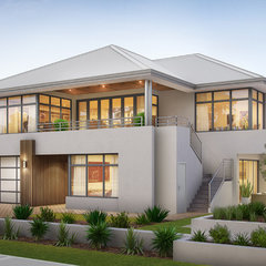 contemporary exterior by Your Building Broker