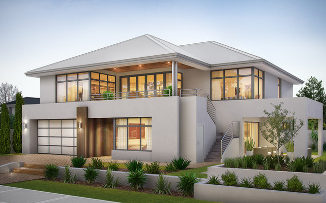 Contemporary  by Your Building Broker