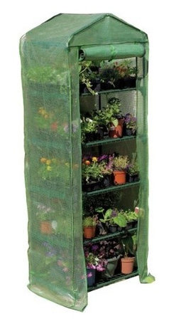 Gardman USA - 5-Tier Growhouse with Cover - 5 Tier Growhouse with Heavy Duty Cover