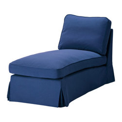 IKEA of Sweden - EKTORP Chaise - Chaise, Idemo blue
