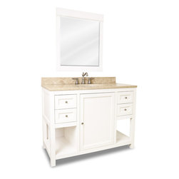 "48"" Welby Single Bath Vanity - White -"