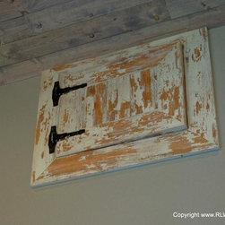 Barn Doors - Sliding barn door in Dirty White by Timeline Wood