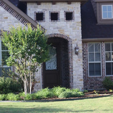 Transitional Exterior by Atkins Design Group
