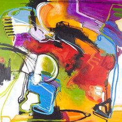 "SCANDINAVIAN ART FACTORY - LARGE ARTWORK - NAME-"" NEXT FRONT 3"""