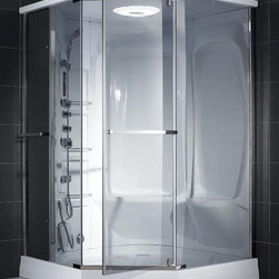 Dreamline Neptune Jetted & Steam Shower - PRODUCT SPECIFICATIONS