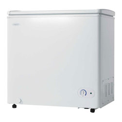 Danby - Danby White 5.5 Cubic Foot Chest Freezer - Features: