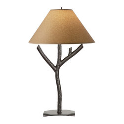 Stone County Iron Works - Woodland Iron Table Lamp - Stone County Iron Works 901-624 Woodland Iron Lodge/Rustic Table Lamp