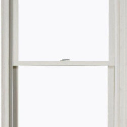 JELD-WEN Double-Hung Wood Window - We know contractors who recommend Jeld-Wen, so I'm sure their windows are good. But what I especially like about this style is that it's double-hung, so you can open it from the top or the bottom.