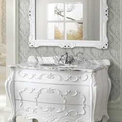 Vintage Bathroom Vanities - Vintage bathroom vanities are usually new, but loyally reproduced, copies of antique vanities. You've got to hand it to the vanities makers of the past because the designs they made are still careful to be pieces of bathroom furniture of countless beauty. It's great that you can buy these same styles now, but new. There's quite a brisk trade developing in real Vintage cabinets which people have converted into bathroom vanities…