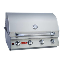 "Bull - Lonestar ""Select""  Drop In Unit NG - The Lonestar Select is a 4-Burner stainless steel gas barbecue grill head. The Lonestar Select has four welded stainless steel bar burners, each featuring"