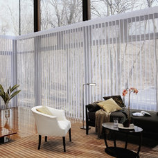 Eclectic Window Blinds by Live Beautiful Designs