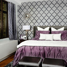 Transitional Bedroom by Decorating Den Interiors- Corporate Headquarters