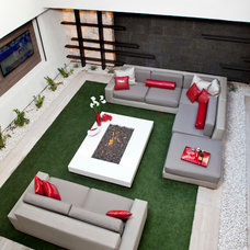 Contemporary Outdoor Sofas by Somers Furniture