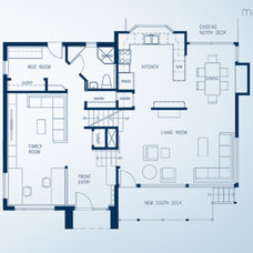 Modern Floor Plan by Dame Architecture Inc.
