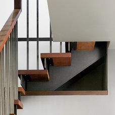 Modern Staircase by MaryEllen Kowalewski Architect