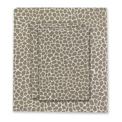 Oilo - Cobblestone Sheet Set in Taupe - Cobblestone Sheet Set in Taupe