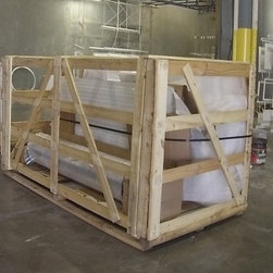Temloc Building Photos - This is an example of how all Temloc buildings are shipped from our plant to your door.