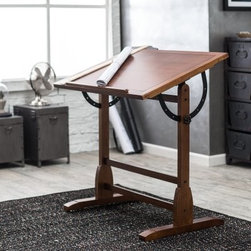 Studio Designs Vintage Drafting Table - Rustic Oak - About Studio Designs Founded in 1985 in Pico Rivera, Calif., Studio Designs (formerly Studio RTA) offers a wide range of products, including art sets, drafting tables, craft tables, workstations, easels, and more. Designed for use in the sometimes-cramped environment of the home workstation, Studio Designs' products are innovative and affordable, while giving you the most for your money. Furniture for home office and creation should be something you can depend on, and Studio Designs keeps that in mind, with durable materials and quality craftsmanship to last for years.