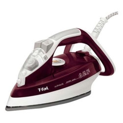 T-Fal/Wearever - T-Fal Ultraglide EasyCord Iron Red - T-FAL Ultraglide Iron with ceramic soleplate.  Anti-drip system.  Patented easy cord keeps it out of the way.  Comfort handle provides greater effortlessness while ironing.