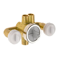 Delta - Delta R1827-XODelta Jetted Shower Rough-In w/ Extra Outlet (6 Setting) (Chrome) - Delta R1827-XO Rough-In Valves are not required for kitchen faucets and many bathroom faucets from Delta, please refer to trim installation guide to determine if a rough-in valve is needed. The Delta R1827-XO is a Jetted XO Shower Rough In Valve.