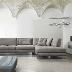 Theodores Modern Sofas - Theodores modern collection of sofas, sectionals, chairs, sleepers and sleep sofas all available in leather or fabric.