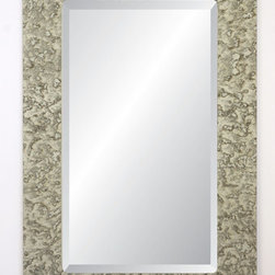 """Spancraft Glass - Manchester Rectangular Wall Mirror - The Antiqued Mirror Collection: where modern simplicity meets old world elegance. This collection reflects the beauty of the room while enhancing it and adds charm and romance that's stylish yet practical. Simply chic. Perfectly proportioned, and it surrounds a vertical rectangle with glamour from every angle to reflect your sense of style. Features: -Frame finish: Antique. -Safety backing applied to all mirrors. -Screws to attach mirror to wall not included. -No visible wood or unsightly hanging hardware. -Hooks bonded to back of mirror for easy installation. -Mirrors elegantly float 1/2"""" from wall. -4"""" Antique mirror border. -1/4"""" Thick mirror with 1"""" bevel bonded edge. Specifications: -Overall dimensions: 30"""" H x 22"""" W."""