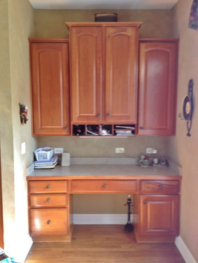 deeply in a cove the cabinets are 18 30 18 wide respectively any great ...