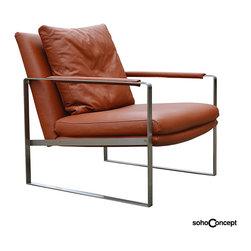 Soho Concept Zara Arm Chair Leather - Soho Concept Zara Arm Chair Leather