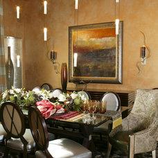 Contemporary Dining Room by VM Concept Interior Design Studio