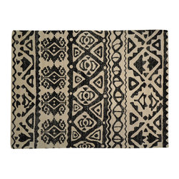 1800-Get-A-Rug - Sari Silk Zero Pile Black and Ivory Hand Knotted Oriental Rug Sh17103 - Silk was first developed in ancient China and was originally reserved for royalty because of its unique qualities. Thankfully, its special qualities are, today, available to all. A silk rug is the most intricate type of hand knotted Oriental carpet due to its one-of-a-kind fine lustrous weave, copious detail, and rich color combinations. Our collection includes stunning examples of classic Persian Tabriz, Kashan, Qum, Isfahan and the Turkish Hereke.