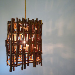 eclectic pendant lighting by Etsy