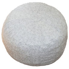 Contemporary Floor Pillows And Poufs by Oliver B