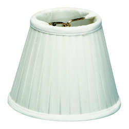 Home Concept - Down White Pleated Clip-on Candelabra - Why Upgrade to Home Concept Signature Shades?