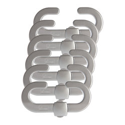 Dreambaby - Dreambaby Secure-A-Lock, Silver, 6-Pack - We bet you didn't know that peace of mind was so easy to obtain! These Secure-A-Locks ensure that your curious little ones safely stay away from all that could harm them. Now you know where to hide the cleaning supplies AND the birthday presents!